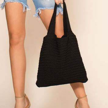 Washed Up Tote - Black