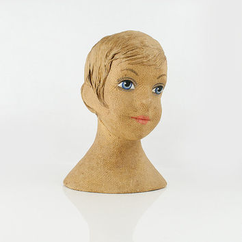Vintage child mannequin head