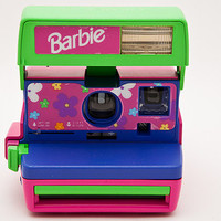 Polaroid Pink and Purple Barbie cam - Tested and Works perfectly polaroid 600 film PX680