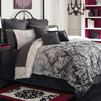 Lux Ombre Complete Bed Ensemble, 100% Cotton - Bed Bath & Beyond