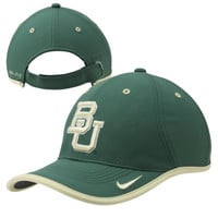 Baylor Bears Nike 2014 Coaches Performance Adjustable Hat – Green