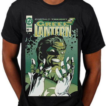 Jzecco 2017 Hot Sale Green Lantern Emerald Twilight T Shirt Dc Comics Superhero Marvel Merch Printed T Shirt Harajuku Tee Shirts