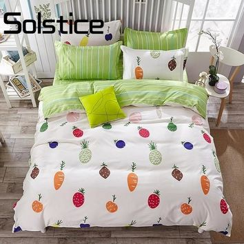 Solstice Home Textile  2018 new fashion style series of skin should be aloe cotton quilt bed linen suite 3/4pcs