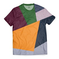 'multi block' T-Shirt by DuckyB on miPic