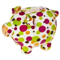 Mary Meyer Print Pizzazz Piggy Bank Fizz Design 6""