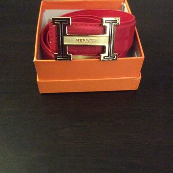 hermes men belt size 34
