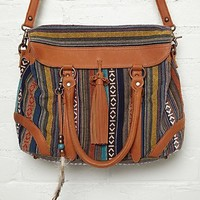 Free People Jacquard Satchel