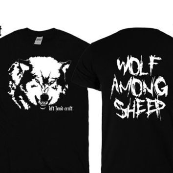 Wolf Among Sheep tee shirt