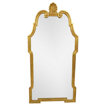 Shell & Gilt Chinoiserie Mirror