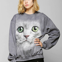 The Mountain Cat Face Sweatshirt - Urban Outfitters