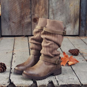 Comfy Cabin Sweater Boots