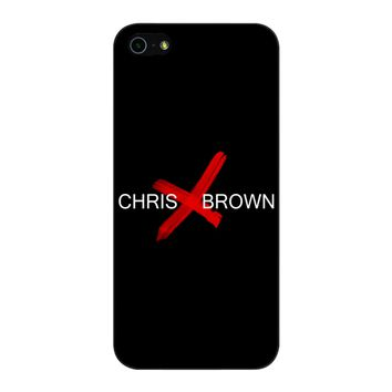Chris Brown iPhone 5/5S/SE Case