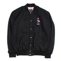 FLAMINGO VARSITY JACKET