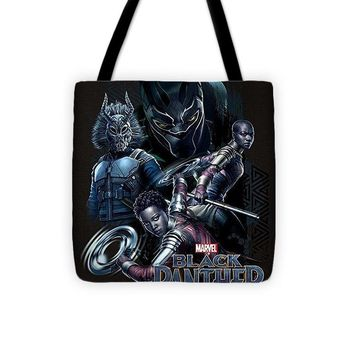 Marvel Black Panther Okoye Nakia Group Graphic - Tote Bag