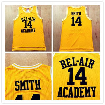 Fresh Prince Of Bel Air Jersey,Movies Of Smith Basketball Jersey None Of Brand Number 14 Color Yellow