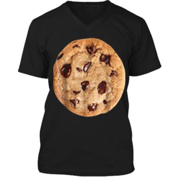 Cookie last minute Halloween funny matching costume  Mens Printed V-Neck T