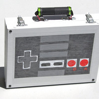 Nintendo Controller Case Suitcase recycled geeky by Polyester10