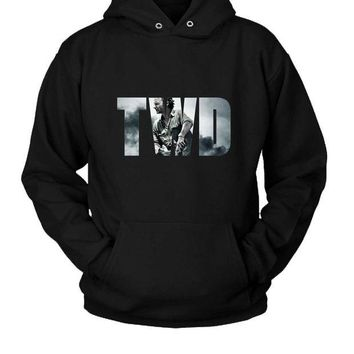DCCK7H3 The Walking Dead Hoodie Two Sided