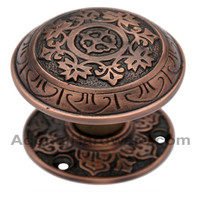 Abdeel Brass Door Knob with Rose