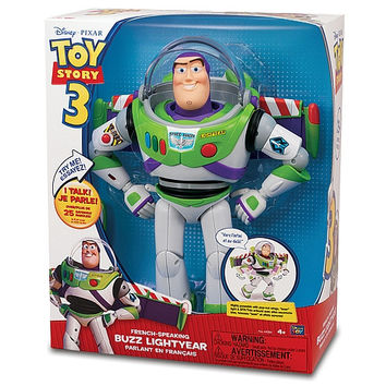 Disney Pixar Toy Story Buzz Lightyear [Parlant en Franš?ais - French Speaking]