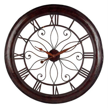 Decorative Wall Clock - Tuscan