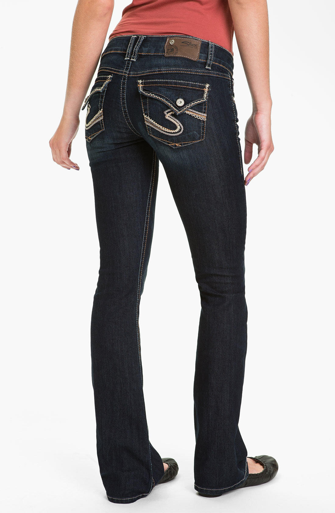 Silver Jeans Co. 'Dawson' Flare Leg Jeans (Juniors) | Nordstrom