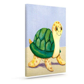 """Padgett Mason """"Slow and Steady"""" Outdoor Canvas Wall Art"""