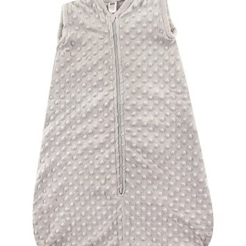 Light Gray Dotted Plush Sleeping Bag - Infant