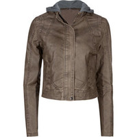 BB DAKOTA Jake Womens Faux Leather Jacket 196518400 | Jackets | Tillys.com