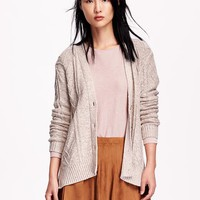 Old Navy Womens Marled Knit Cardigan