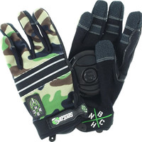 Sector 9 Bhnc Slide Gloves Small/Medium Camo
