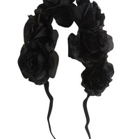 Large Flower Crown Headwrap | Wet Seal