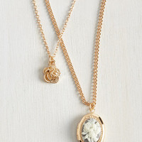 Understate the Truth Necklace by ModCloth