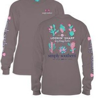 NEW Simply Southern Long Sleeve Tees-SHARP