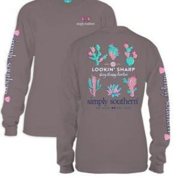 *Closeout* Simply Southern Long Sleeve Tees - SHARP