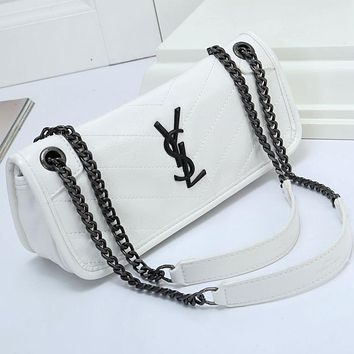 YSL Yves Saint Laurent Women Fashion Simple Handbag Shoulder Bag