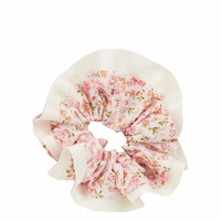 Print Border Scrunchie