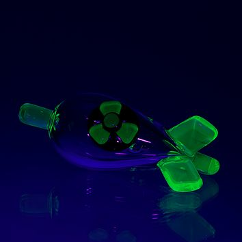 Empire Glassworks UV Radioactive Bomb Bubble Cap