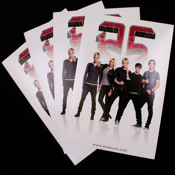 R5 Band Poster | R5 Rocks