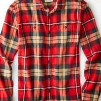 AEO 's Heritage Flannel (Red)