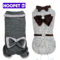 HOOPET pet clothes debutante luxury fur coat cute dog clothes for small dog winter and autumn # T