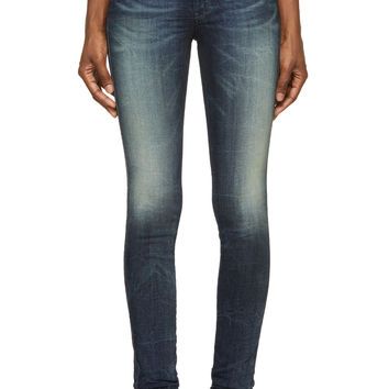 Diesel Blue Faded And Creased Doris-ne Joggjeans
