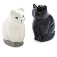 Salt and Pep-purr Shaker Set | Mod Retro Vintage Kitchen | ModCloth.com