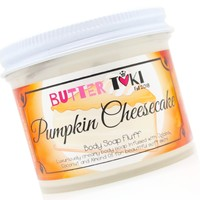 PUMPKIN CHEESECAKE Whipped Body Soap Fluff 4oz - Fall Collection 2018