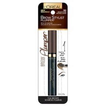 L'Oréal® Paris Brow Stylist Plumper - Medium to Dark 380 : Target