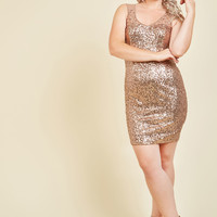 Here and Fearless Sequin Dress | Mod Retro Vintage Dresses | ModCloth.com