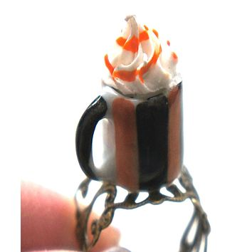 Pumpkin Spice Latte Ring