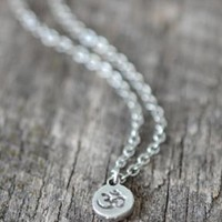 Dainty Om Symbol Necklace