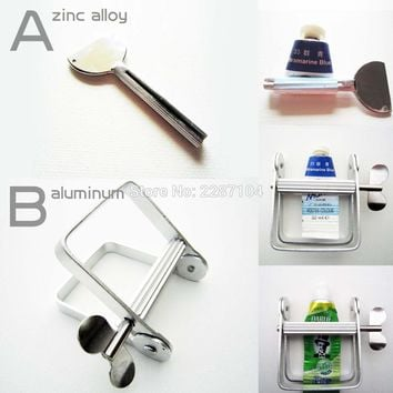 High quality Metal Tooth Aluminum Paste Toothpaste Soap Oil Paint Hair Color Dye Cosmetics Tube Wringer Squeeze Roller Bathroom
