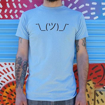 Shrugging Emoji Men's T-Shirt